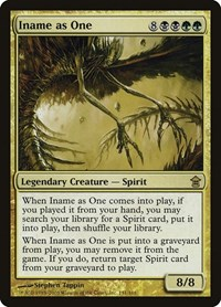 Iname as One, Magic: The Gathering, Saviors of Kamigawa
