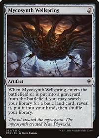Mycosynth Wellspring, Magic, Commander 2016