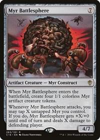 Myr Battlesphere, Magic: The Gathering, Commander 2016