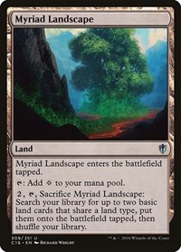 Myriad Landscape, Magic: The Gathering, Commander 2016