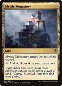 Mystic Monastery, Magic: The Gathering, Commander 2016
