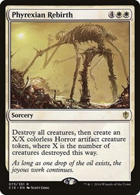 Phyrexian Rebirth, Magic: The Gathering, Commander 2016