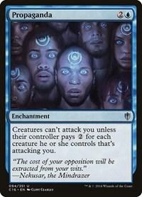 Propaganda, Magic, Commander 2016
