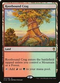 Rootbound Crag, Magic: The Gathering, Commander 2016