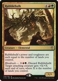 Rubblehulk, Magic, Commander 2016