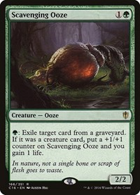 Scavenging Ooze, Magic: The Gathering, Commander 2016