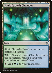 Simic Growth Chamber, Magic: The Gathering, Commander 2016