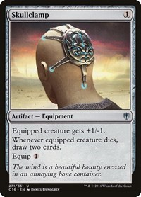 Skullclamp, Magic: The Gathering, Commander 2016
