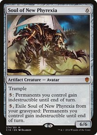 Soul of New Phyrexia, Magic: The Gathering, Commander 2016