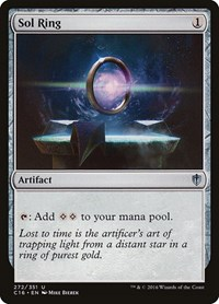 Sol Ring, Magic: The Gathering, Commander 2016