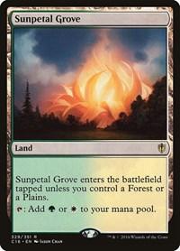Sunpetal Grove, Magic: The Gathering, Commander 2016