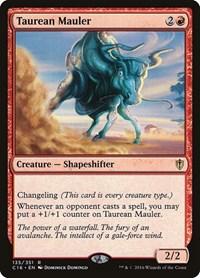 Taurean Mauler, Magic: The Gathering, Commander 2016