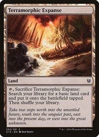Terramorphic Expanse, Magic: The Gathering, Commander 2016