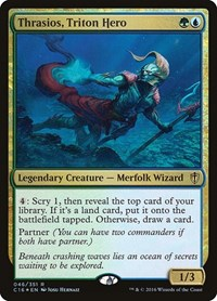Thrasios, Triton Hero, Magic: The Gathering, Commander 2016