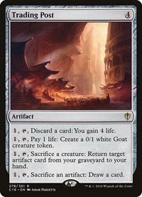 Trading Post, Magic: The Gathering, Commander 2016
