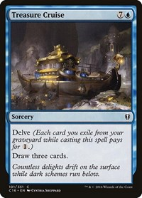 Treasure Cruise, Magic, Commander 2016