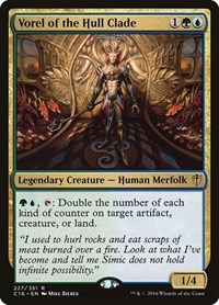 Vorel of the Hull Clade, Magic: The Gathering, Commander 2016