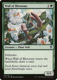 Wall of Blossoms, Magic: The Gathering, Commander 2016