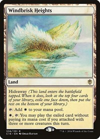 Windbrisk Heights, Magic, Commander 2016