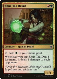 Zhur-Taa Druid, Magic: The Gathering, Commander 2016