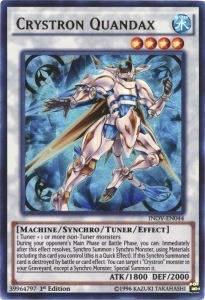Crystron Quandax, YuGiOh, Invasion: Vengeance