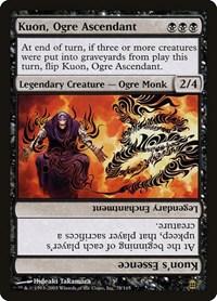 Kuon, Ogre Ascendant, Magic: The Gathering, Saviors of Kamigawa
