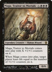 Maga, Traitor to Mortals (Foil)