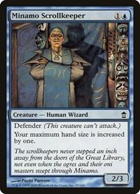 Minamo Scrollkeeper, Magic: The Gathering, Saviors of Kamigawa