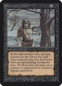 Scavenging Ghoul, Magic: The Gathering, Alpha Edition