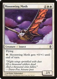 Moonwing Moth, Magic: The Gathering, Saviors of Kamigawa
