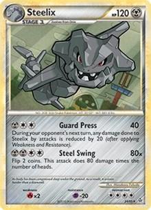 Steelix (HGSS Unleashed), Pokemon, Deck Exclusives