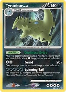 Tyranitar (DP Stormfront), Pokemon, Deck Exclusives