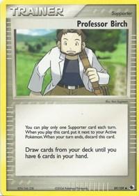Professor Birch, Pokemon, EX Battle Stadium