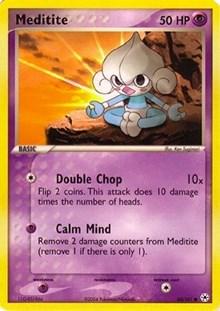 Meditite, Pokemon, EX Battle Stadium