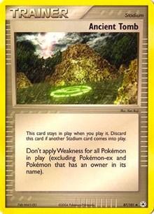 Ancient Tomb, Pokemon, EX Battle Stadium