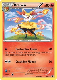 Braixen - XY161, Pokemon, XY Promos