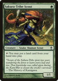 Sakura-Tribe Scout, Magic: The Gathering, Saviors of Kamigawa