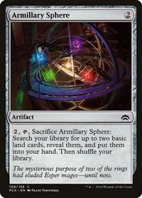 Armillary Sphere, Magic: The Gathering, Planechase Anthology