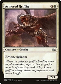 Armored Griffin, Magic: The Gathering, Planechase Anthology