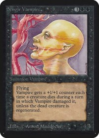 Sengir Vampire, Magic: The Gathering, Alpha Edition