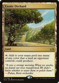 Exotic Orchard, Magic: The Gathering, Planechase Anthology