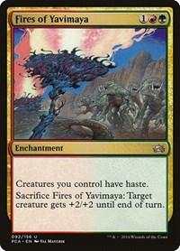 Fires of Yavimaya, Magic: The Gathering, Planechase Anthology