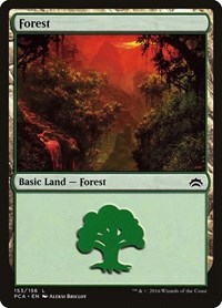 Forest (153), Magic: The Gathering, Planechase Anthology