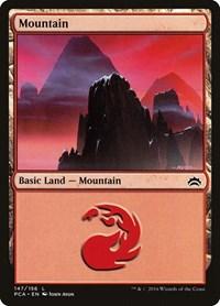 Mountain (147), Magic: The Gathering, Planechase Anthology