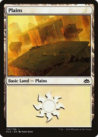 Plains (133), Magic: The Gathering, Planechase Anthology