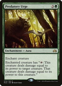 Predatory Urge, Magic: The Gathering, Planechase Anthology