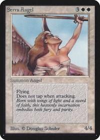 Serra Angel, Magic: The Gathering, Alpha Edition
