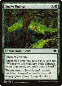 Snake Umbra, Magic: The Gathering, Planechase Anthology
