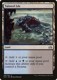 Tainted Isle, Magic: The Gathering, Planechase Anthology