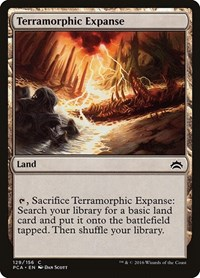 Terramorphic Expanse, Magic: The Gathering, Planechase Anthology